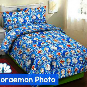 sprei doraemon photo