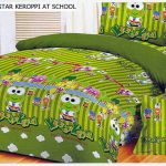sprei keroppi at school