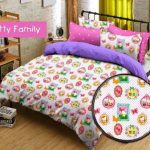 sprei kitty family