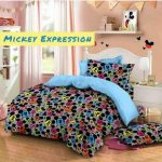 sprei mickey expression