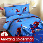 sprei spiderman amazing