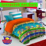 sprei spongebob and gary