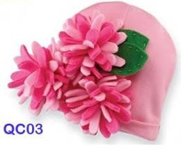 colourfull hat bunga jarum Cute Hats (Topi Lucu)