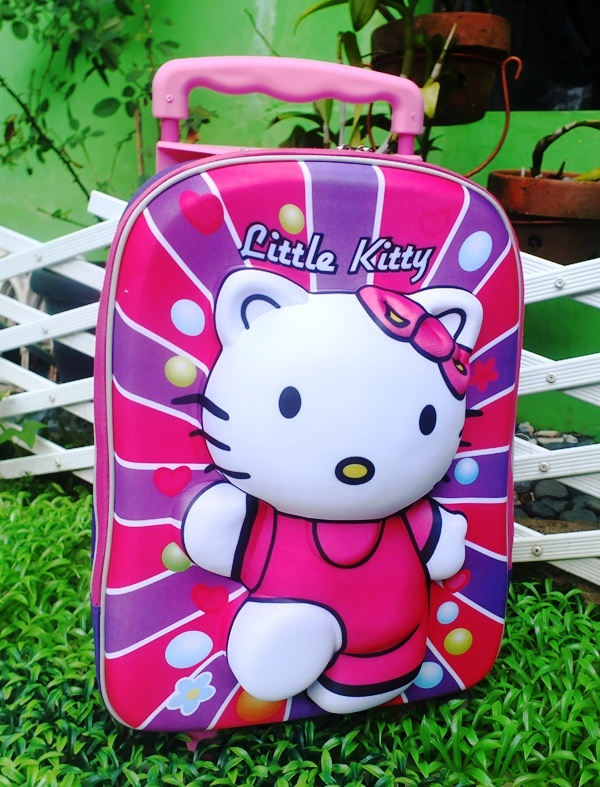 tas Trolly hello kitty 3 dimensi