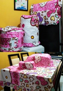 HOMEset Hello Kitty  Leopard Pink copy