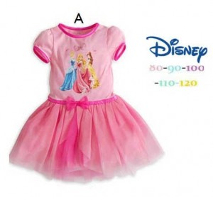 Three Princess Hot Pink 80 120 300x278 Baju Anak lucu