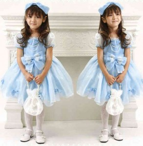 blue dress size 90 120.  293x300 Baju Anak lucu