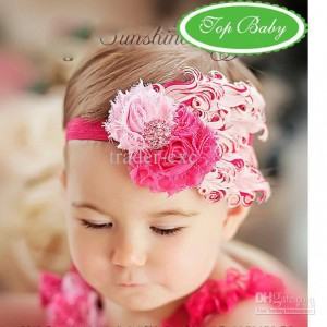 head band baby pink 300x300 Cute Headband   Bandana anak Lucu
