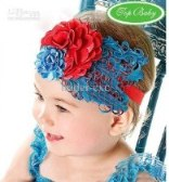 head band blue red1 300x300 Cute Headband   Bandana anak Lucu
