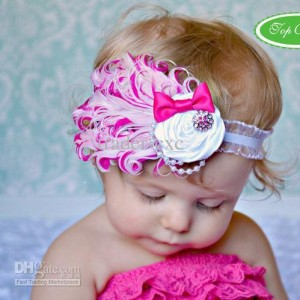 head band claudia pink mix 300x300 Cute Headband   Bandana anak Lucu
