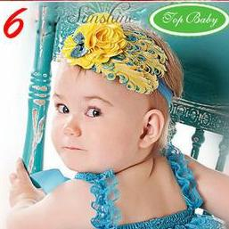 head band kuning Cute Headband   Bandana anak Lucu