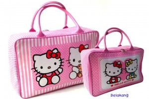 hk polka pink new 300x200 Travel Bag Tenteng