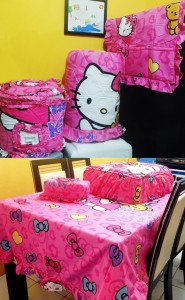 homeset Hk ribbon pink