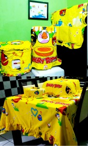 homeset angrybird game kuning
