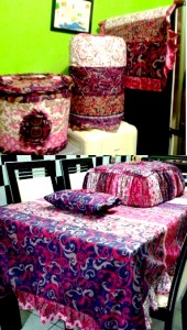 homeset batik india