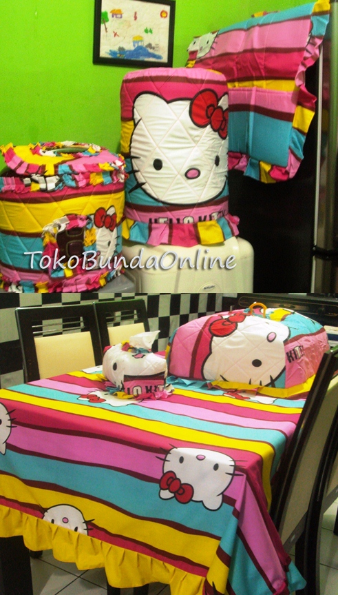 Homeset Hello Kitty Pelangi