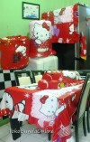 homeset hello kitty red love