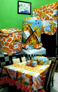 homeset jerapah  190x300 Home Set Lucu