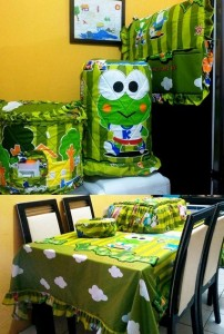 homeset keropi at school copy 202x300 Home Set Lucu