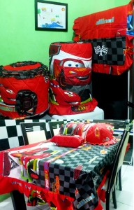 homeset lucu cars  macqueen
