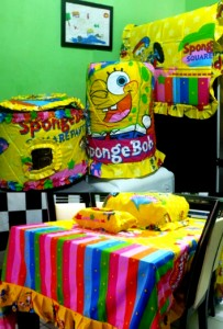 homeset lucu spongebob rainbow1 203x300 Home Set Lucu