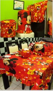 homeset mickey music merah