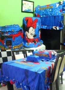 homeset mickey wonderland1 217x300 Home Set Lucu