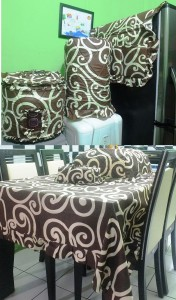homeset tatto coklat
