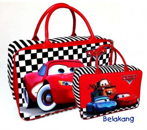 tas travel bag tenteng cars