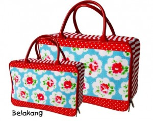 tas travel kanvas bunga bunga rz