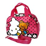 tas travel oval hello kitty