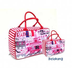 tas travel paris pink