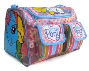 tas travel renang littel pony biru rz