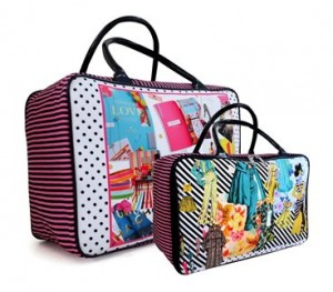 tas travel tenteng kanvas barbie