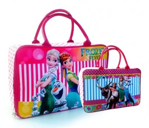 tas travel tenteng kanvas frozen fever rz