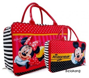 tas travel tenteng mickey minnie rz