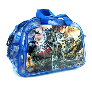 tas travel transformer transparan