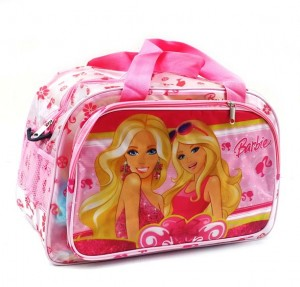 tas travel transparan barbie rz