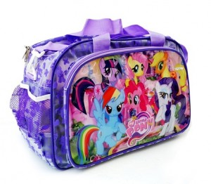 tas travel transparan little pony ungu rz