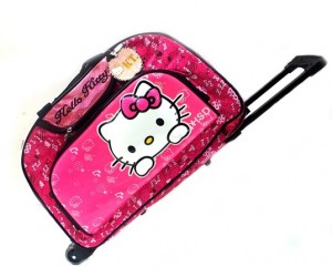 tas travel trolly hk pink timbul rz