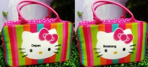 travel bag tenteng hello kitty pelangi  300x137 Travel Bag Tenteng