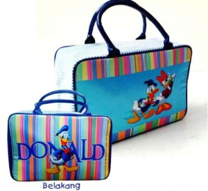 travel tenteng donald duck