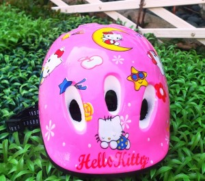 helm anak hello kitty (2)