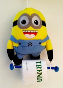 lap tissue 2 in 1 minion jadi