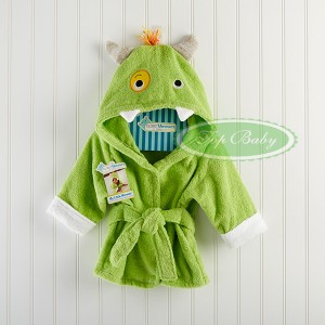 Handuk lucu top baby bathrobe frog