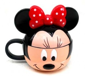 Mug Minnie 300x268 Set Makan Lucu