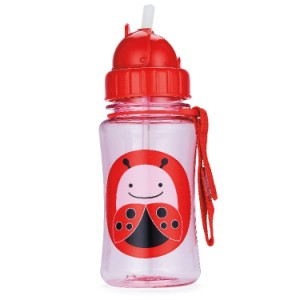 Straw Bottle flip straw sports bottle LADYBUG1 300x300 Set Makan Skiphop (Piring Set, Botol dan Celemek)
