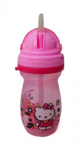botol minum hello kitty helm
