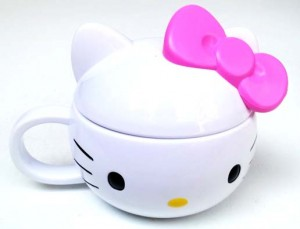 mugs hello kitty 300x229 Set Makan Lucu