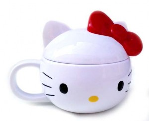 mugs hello kitty pita merah